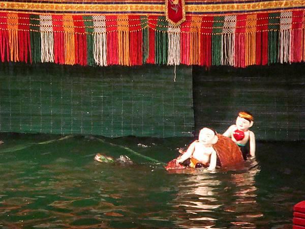 水上木偶戲