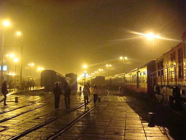 河內火車站月台