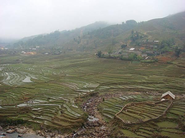 Lao Chai的梯田