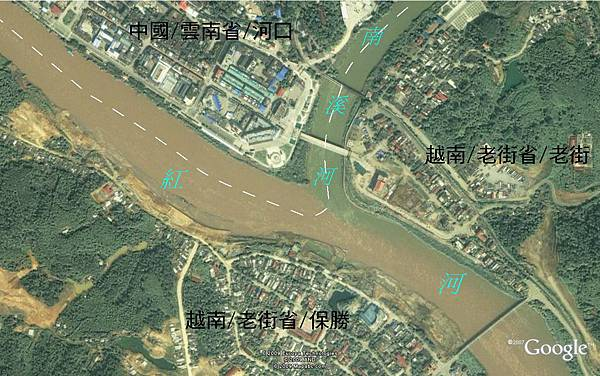 老街河口地圖