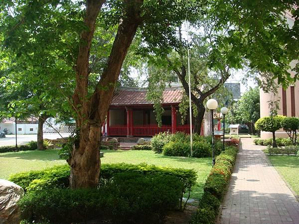 舊城國小的孔廟崇聖祠