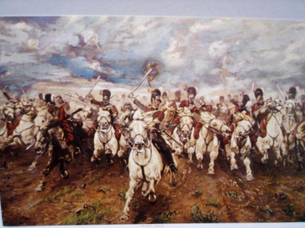 the battle of Waterloo 小卡