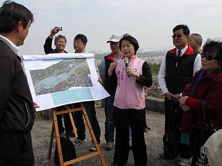 水利署三河局承諾立即辦理豐洲堤防加強保護工程