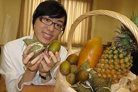 營養師王筱淇提供健康吃粽子小撇步