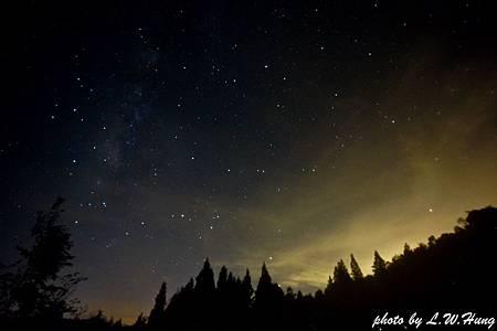 高海拔的星空