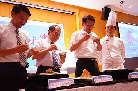 海外客家美食料理研習進階班美味上菜