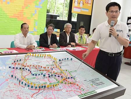 林佳龍公布交通市政白皮書