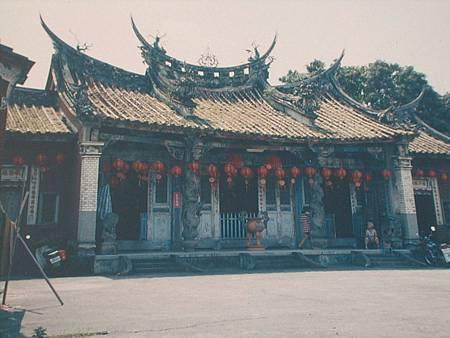 東勢文昌廟震毀
