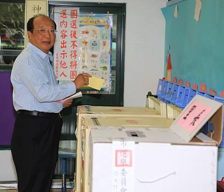 胡市長早起投票
