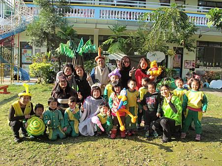 文化志工成立劇團幼稚園推廣閱讀