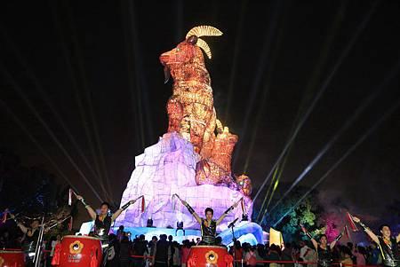 2015台灣燈會台中飛揚鼓勇迎新良心啟