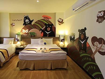 T黑熊主題房1