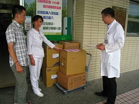 豐原醫院啟動戰備衛材北運支援