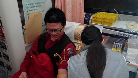 消防局捐血1