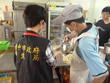 衛生局中西式早餐店抽驗豆漿