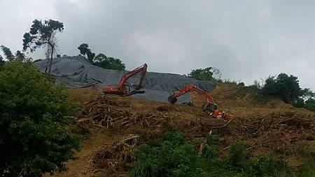 山坡地開挖1