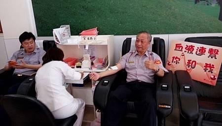 豐原分局捐血