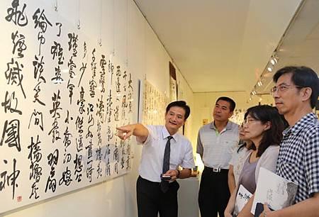蘇仁彥書法展書藝實踐生活美學