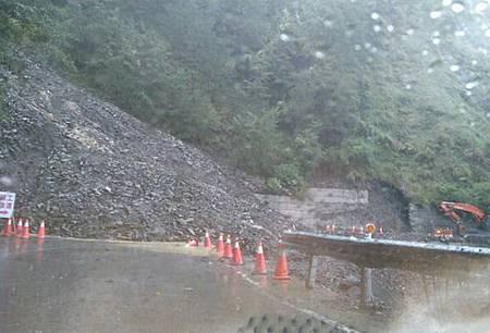 梅姬狂風肆虐梨山地區路坍電停