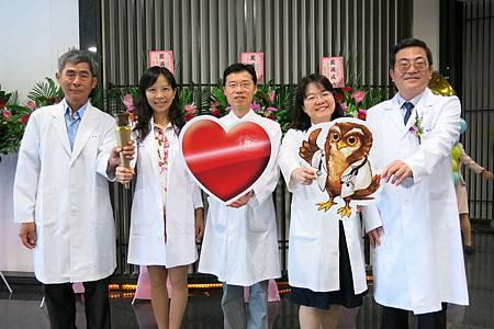 四位醫師獲衛福部表揚