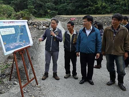 東卯溪過水路面工程明年汛期前完工