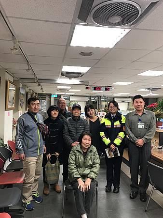 日本警察後代來台尋根女警熱心協助