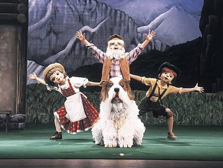 懷舊卡通小天使變身3D人偶音樂劇