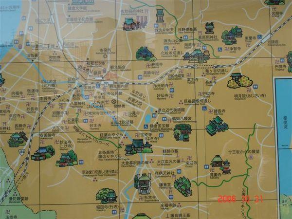 鎌倉KAMAKURA MAP
