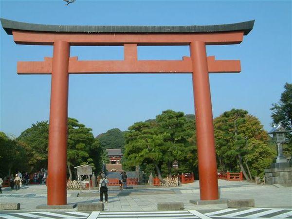 鎌倉八幡宮前鳥居