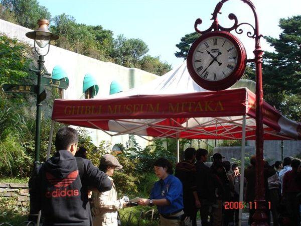 GHIBLI博物館入口