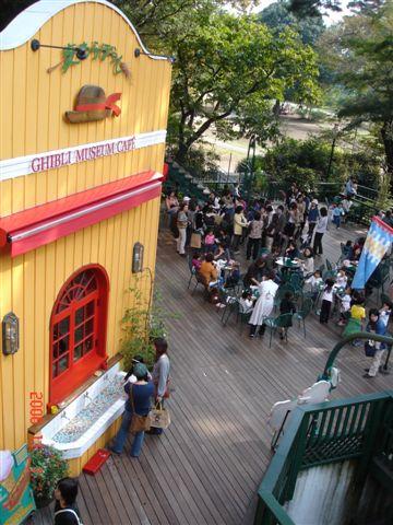 GHIBLI博物館-餐廳鳥瞰
