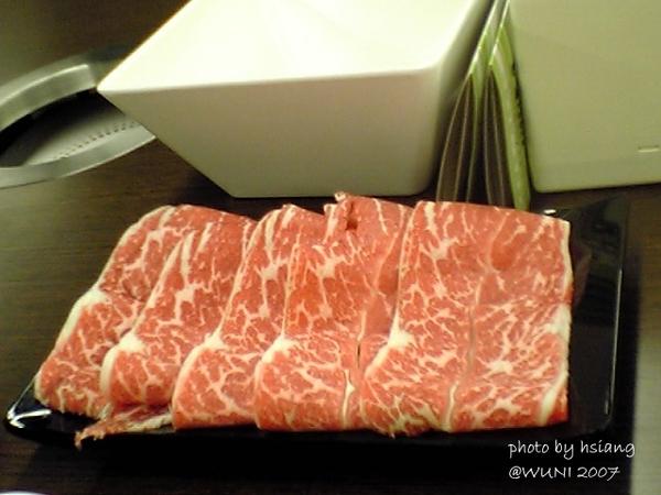 開幕期間贈送的牛肉盤