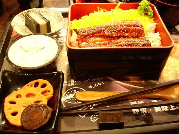蒲燒鰻定食