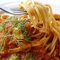 蕃茄海鮮義大利麵