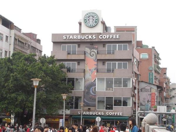 Starbucks淡水門市