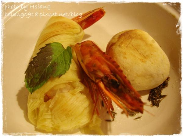 晚餐~百里千層蝦