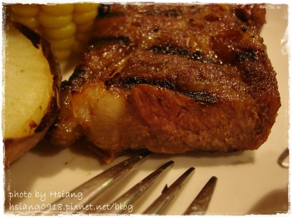 晚餐~照燒羔羊排