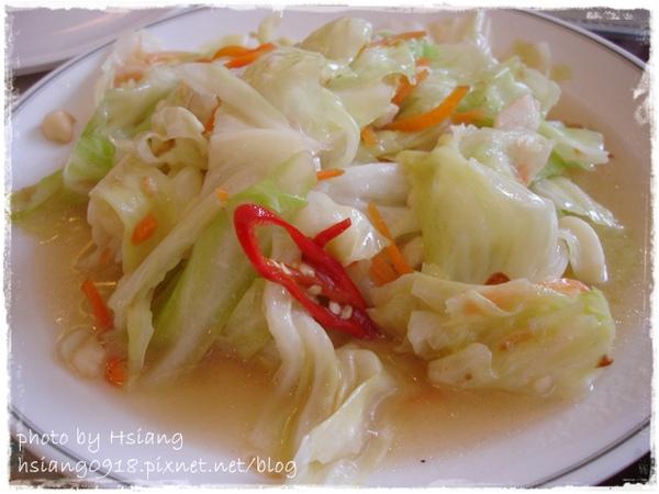 礁溪市區熱炒~炒高麗菜