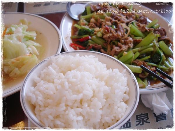 礁溪市區熱炒~炒高麗菜+沙茶羊肉