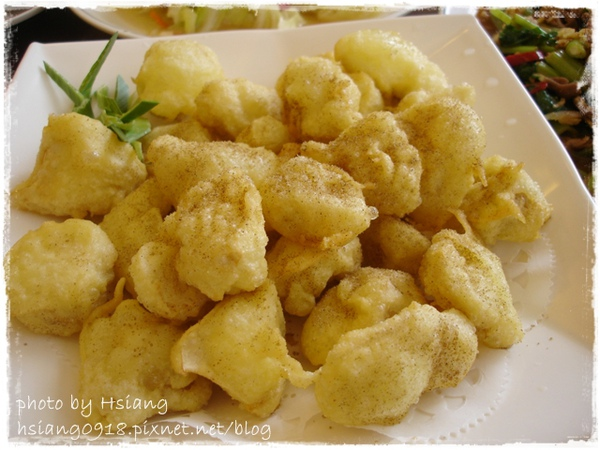 礁溪市區熱炒~酥炸杏鮑菇