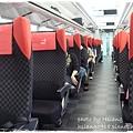 Narita Express座位區
