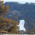 輕井澤KARUIZAWA站遠方滑雪場