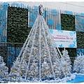 新宿西口通道旁的聖誕裝飾