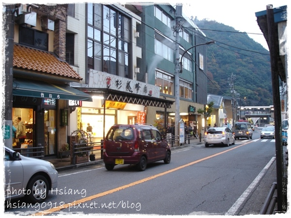 箱根湯本~老街景