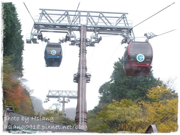 空中纜車Ropeway~早雲山→大涌谷