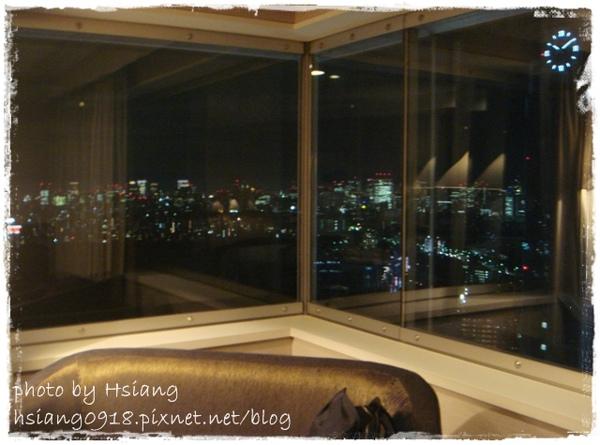 新宿小田急南塔(悅)飯店~雙VIEW角落雙人房