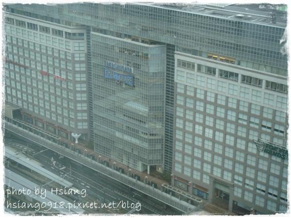 飯店房間VIEW~Takahimaya Times Square