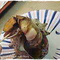 築地場外市場~烤貝類(螺)