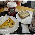 新宿南口Starbucks~早餐