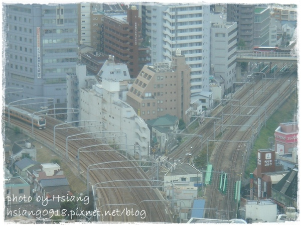 飯店房間VIEW~山手線&中央線